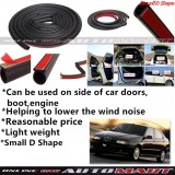 Alfa Romeo 145/146-SCHEME SILENCE (Small D Shape) DIY Air Tight Slim Rubber Seal Stripe Sound & Wind Proof & Sound Proof for Car (4 Doors)