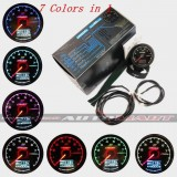 Greddy Oil Pressure Multi D/A Dauge 7 Colour Display Universal Fit + Battery Volts