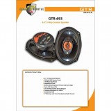 Adams Digital 6 x 9 inch Speaker (GTR Series) GTR-693