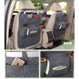 Car back seat organizer Multifunctional Storage Back pocket Bag (Dark gray)