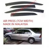AG Air Press Door Visor Wind Deflector (Made in Malaysia) - Small 7 cm Width for HONDA CITY YR1995