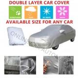 Alfa Romeo 155-High Quality Double Layers Waterproof PEVA PVC Car Cover