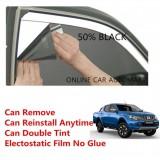 OEM Pre-Cut Shape Magic Tinted Solar Tinted (4 Windows) 50% For Mitsubishi Triton Yr 2015 Present