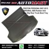 Custom Fit Original ABS Non Slip Rear Trunk Boot Cargo Tray - Proton Persona Yr 2007-2014