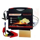 High-Power 10000mAh Multi-Function Portable Jump Starter Power Bank - Gold