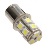 1Pc 13 SMD 5050 Car LED Day 1156 BA15S Bulb Turn Signal Tail Light Lamp - White