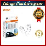 Osram LED T10 12V 1W Sky White 6700K OEM Bulbs,License Plate Lights (With Warranty)