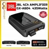 JBL GX-A604 4 Channel Car Power Amplifier 435Watts 4Ch Amp