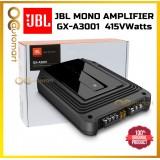 JBL GX-A3001 Mono Subwoofer Car Amplifier MonoBlock 415 Watts Mono Block Amp For Woofer