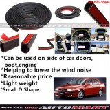 Alfa Romeo 155-SCHEME SILENCE (Small D Shape)DIY Air Tight Slim Rubber Seal Stripe Sound & Wind Proof & Sound Proof for Car (4 Doors)