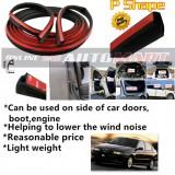 Alfa Romeo 145/146-SCHEME SILENCE (P Shape) DIY Air Tight Slim Rubber Seal Stripe Sound & Wind Proof & Sound Proof for Car (4 Doors)