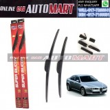 ALFA ROMEO 159 (939) Yr 2005-ORIGINAL KW Super High Quality Silicone Hybrid Wiper-With Multifunction Clip-1 Pair (Made in Germany)-18 inch & 23 inch
