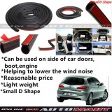 Alfa Romeo 147-SCHEME SILENCE (Small D Shape) DIY Air Tight Slim Rubber Seal Stripe Sound & Wind Proof & Sound Proof for Car (4 Doors)