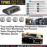 Alfa Romeo 145/146-TPMS Tire Pressure Monitor System T83 - Solar Power Wireless External Silver Sensor  - Tire Pressure Monitor Tool