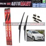 ALFA ROMEO GT Yr2003-ORIGINAL KW Super High Quality Silicone Hybrid Wiper-With Multifunction Clip-1 Pair (Made in Germany)-22 inch & 23 inch