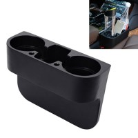 Car Seat Cup Drink Holder Cup Storage Box Holder,Phone Holder (Black)