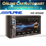 Alpine IVE-W560E 6.1 inch Double DIN Bluetooth DVD CD USB Car Stereo Receiver