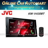 "JVC KW-V430BT 6.8"" 2-Din Car DVD Receiver w Bluetooth USB"
