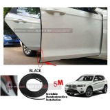 BMW X3-5M (BLACK) Door Trim Rubber Scratch Protector Tape (4 Doors)