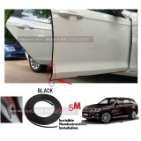 BMW X5-5M (BLACK) Door Trim Rubber Scratch Protector Tape (4 Doors)