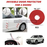 BMW X3 (F25) - 16FT/5M (RED) Moulding Trim Rubber Strip Auto Door Scratch Protector Car Styling Invisible Decorative Tape (4 Doors)