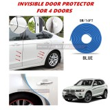 BMW X3 (F25) - 16FT/5M (BLUE) Moulding Trim Rubber Strip Auto Door Scratch Protector Car Styling Invisible Decorative Tape (4 Doors)
