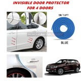 BMW X5 (E70) - 16FT/5M (BLUE) Moulding Trim Rubber Strip Auto Door Scratch Protector Car Styling Invisible Decorative Tape (4 Doors)