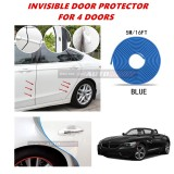 BMW Z4 - 16FT/5M (BLUE) Moulding Trim Rubber Strip Auto Door Scratch Protector Car Styling Invisible Decorative Tape (4 Doors)