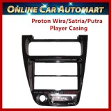 Proton Wira Satria Putra Single,Double Din Car CD or DVD Player Casing Radio Panel