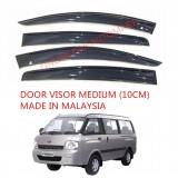 AG Car Window Door Visor Wind Deflector (Made in Malaysia) - Medium 10 cm For Kia Pregio (2 Door)
