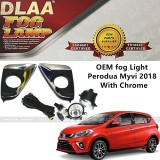DLAA OEM Waterproof Fog Lamp for Perodua Myvi 2018