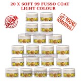 20 X Soft99 Fusso Coat 12 Months Light Color Wax - 200g