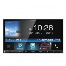 """Details about  Kenwood DMX7018BT 7"""" WVGA Touchscreen Waze Nav-App/ USB/ Bluetooth Player (No CD)"""