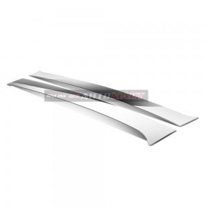 Ford Ranger Yr 2012- Car Chrome Door Window Pillar Trim Panel Chrome Stainless Steel (1 Set)