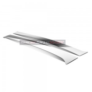 BMW E-46- Car Chrome Door Window Pillar Trim Panel Chrome Stainless Steel (1 Set)