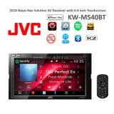 """JVC KW-M540BT 2-DIN AV Receiver Digital Media Receiver with 6.8-inch Clear Resistive Touch Control Monitor (6.8"""" WVGA) and Built-In Bluetooth(R) Wireless Technology"""
