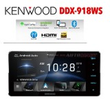 """Kenwood DDX918WS Built-in Wi-Fi®, 6.8inch HD Capacitive Touch Screen AV Receiver 200"""" Toyota Fit Apple Carplay Android Auto Top Of The Line Unit"""