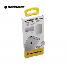 Scosche Replacement Colour Match MagicMount Plates (Silver) for Iphone 6 & 6 Plus  (MAGRKSRI)