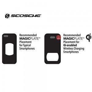 Scosche Replacement Colour Match MagicMount Plates (Gold) for Iphone 6 & 6 Plus  (MAGRKGDI)