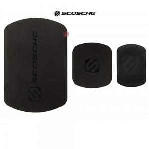 Scosche Replacement Colour Match MagicMount Plates (Black) for Iphone 6 & 6 Plus  (MAGRKI)