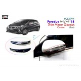PERODUA MYVI ALL NEW 2018 SIDE MIRROR CHROME GARNISH SET ACC