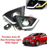 PERODUA AXIA SE SPEC 2017 2018 Daylight DRL + Signal + Fog Lamp Cover