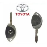 TOYOTA 3 BUTTON REMOTE CONTROL COVER CASING WITH KEY (1459)