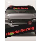 Universal Car Windscreen Sticker Front Or Rear Windscreen Windshield for Honda Racing (YS02)