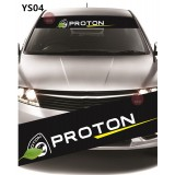 Universal Car Windscreen Sticker Front Or Rear Windscreen Windshield for Proton (YS04)