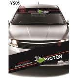 Universal Car Windscreen Sticker Front Or Rear Windscreen Windshield for Proton (YS05)