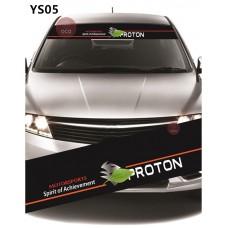 Universal Car Windscreen Sticker Front Or Rear Windscreen Windshield for Proton (YS05)