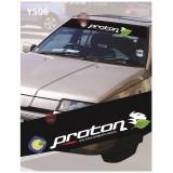 Universal Car Windscreen Sticker Front Or Rear Windscreen Windshield for Proton Old (YS06)