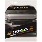 Universal Car Windscreen Sticker Front Or Rear Windscreen Windshield for Honda (YS10)