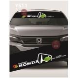 Universal Car Windscreen Sticker Front Or Rear Windscreen Windshield for Honda (YS11)